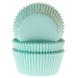House of Marie HOM Baking cups Mint - pk/24