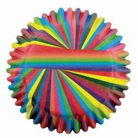 PME Pme Baking Cups Snazzy Stripes Pk/60