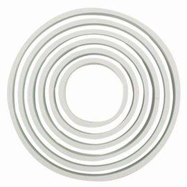 PME PME Plastic Cutter Circle Set/6