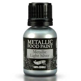 RainbowDust RD Metallic Food Paint Light Silver 25ml