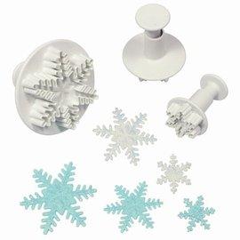 PME PME Snowflake Plunger Cutter set/3