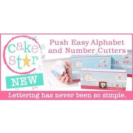 CakeStar Cake Star Push Easy Numbers Cutters