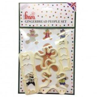 FMM FMM Gingerbread People Cutter Set
