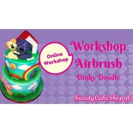 Online workshop Airbrush