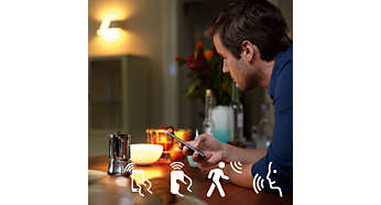 Philips Hue Bediening Home2Link