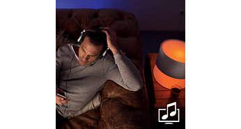 Philips Hue Muziek Sfeer Home2Link