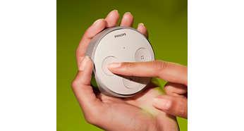 Home2Link Philips Hue Tap geen batterij