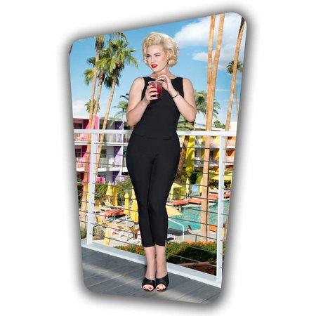 Donna Capri Suit Trousers - Black