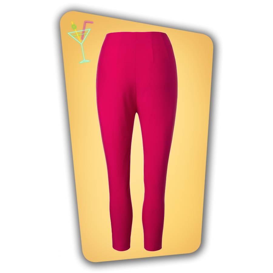 Donna Capri Suit Trousers - Hot Pink