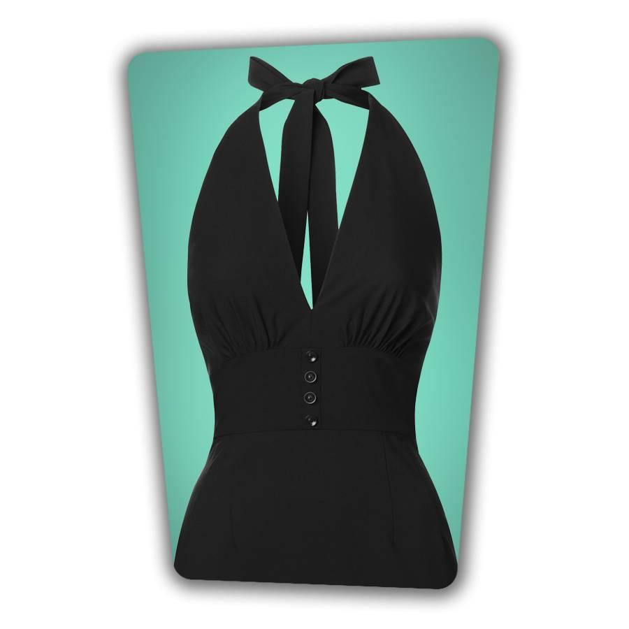 Edith Pencil Dress - Black