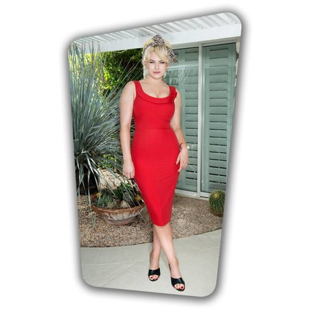 Joan Pencil Dress - Red