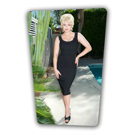 Joan Pencil Dress - Black