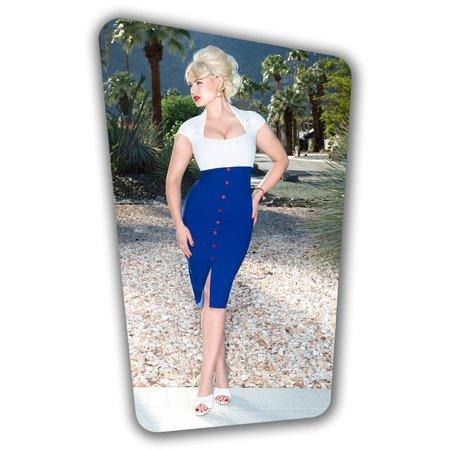 Lexy Pencil Dress - Royal Blue