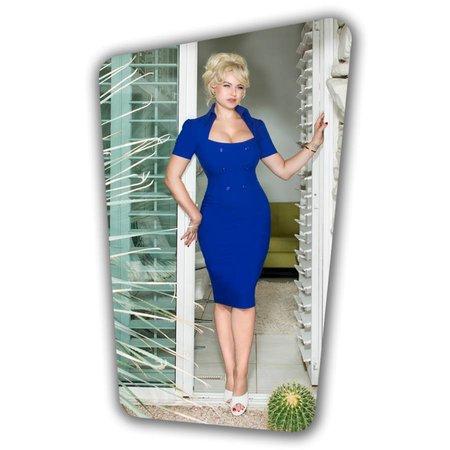 Rita Rae Pencil Dress - Royal Blue
