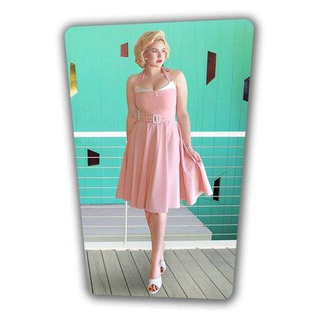 Alice Swing Dress - Soft Pink