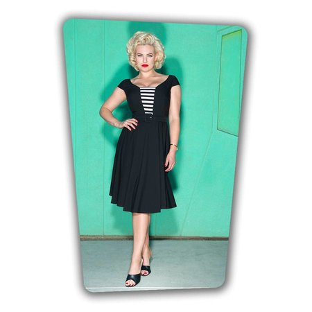 Gwenn Swing Dress - Black