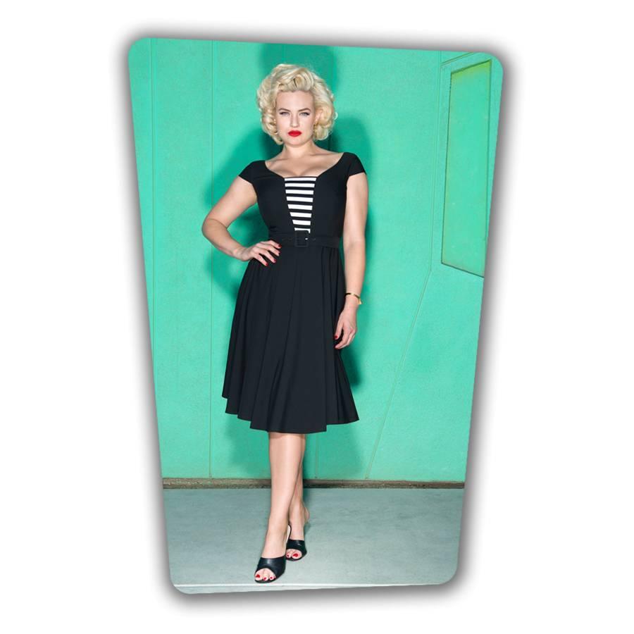 Gwenn Swing Dress - Black