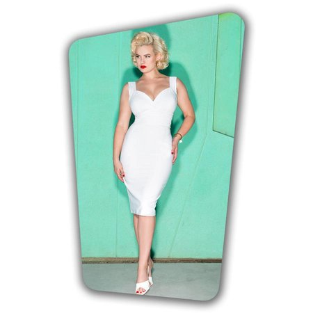 Trinity Pencil Dress - Off White