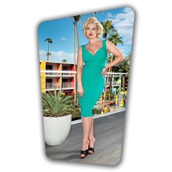 Trinity Pencil Dress - Turquoise