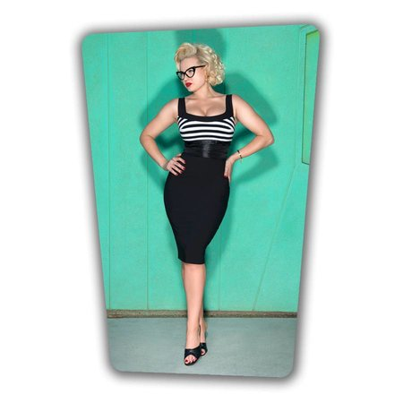 Didi Pencil Dress - Black