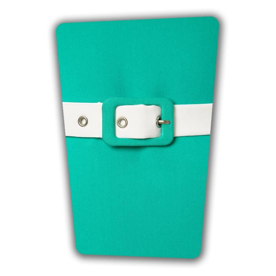 Annie Pencil Dress - Turquoise
