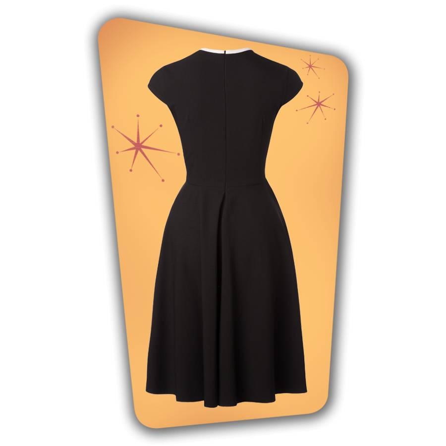 Karen Swing Dress - Black