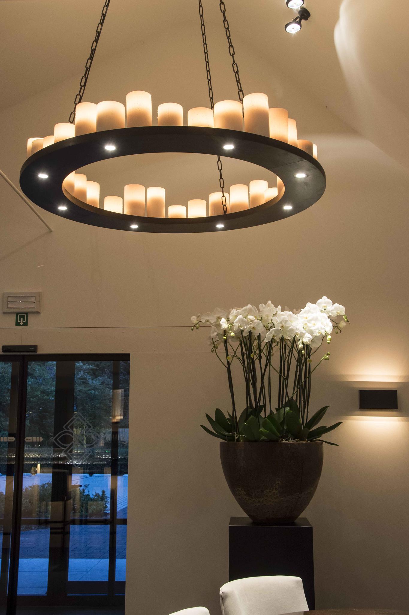 lampe rustique ronde