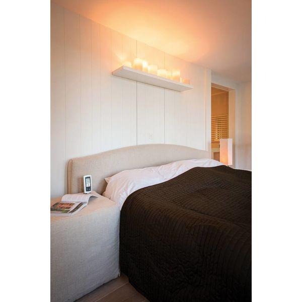 Exclusieve wandlamp met kaarsen LED