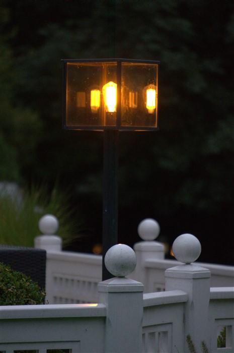Landelijke terraslamp