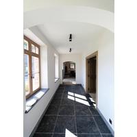 Dubbele plafondlamp landelijk 2 spots brons, nikkel, chroom
