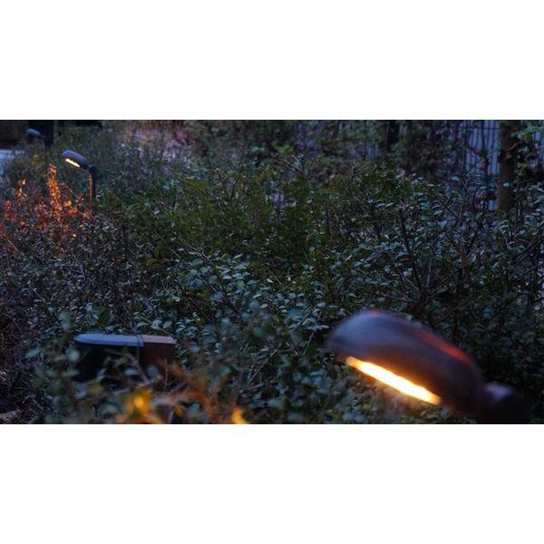 Tuinlamp LED landelijk brons 0,5m, 0,75m, 1m of 1,5m