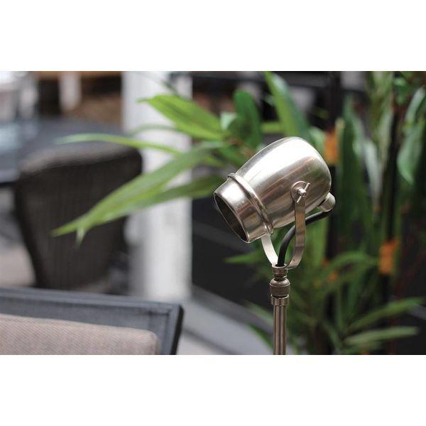 Landelijke leeslamp GU10 brons, nikkel, chroom