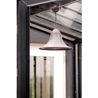 Hanglamp landelijk brons klok ketting 30 cm of 37 cm Ø
