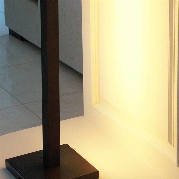 Design vloerlamp brons 1m, 1,25m of 1,5m hoog