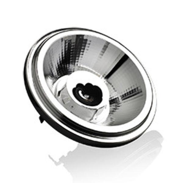 LED lamp AR111 10W 12°, 25°, 40° of 15W dim to warm