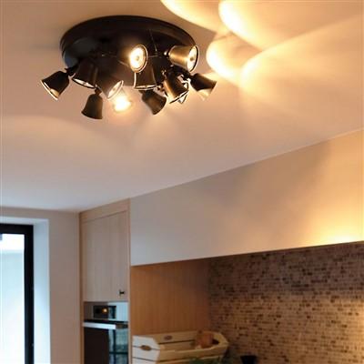 Landelijke plafondlamp