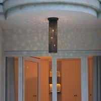 Sterrenhemel lamp 60, 150, 200 of 250mm Ø brons, nikkel