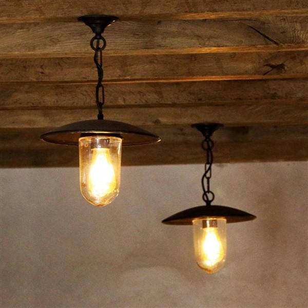 Landelijke hanglamp voor de hal