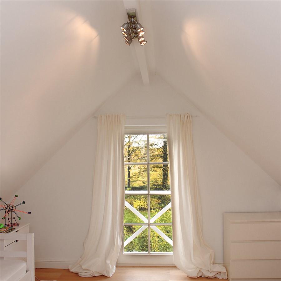 Rustieke plafondverlichting met spots
