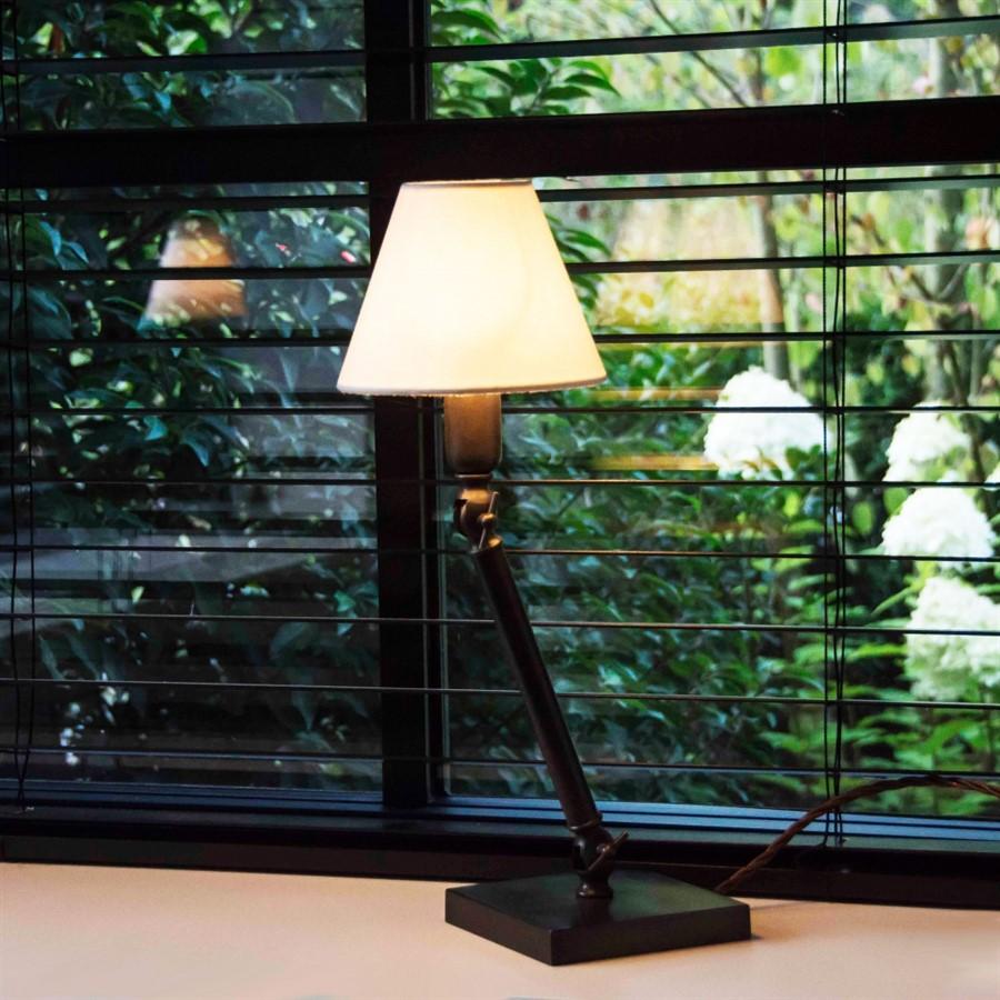 Landelijke tafellamp woonkamer
