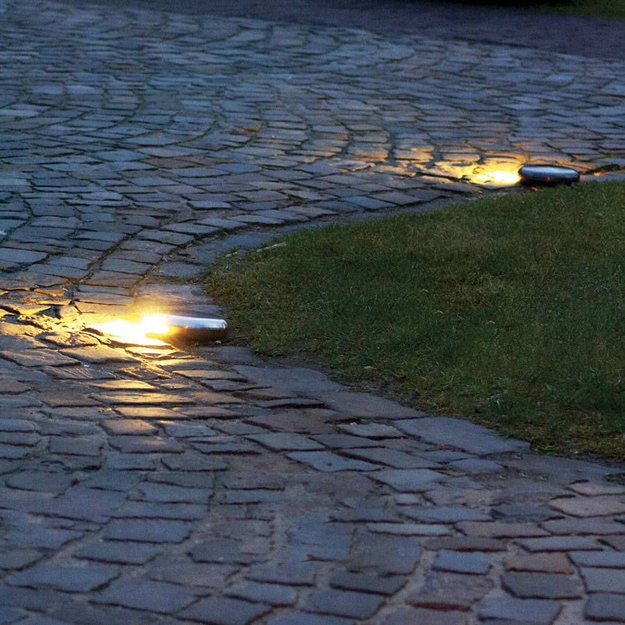 oprit verlichting led brons nikkel chroom 90 of 2x90