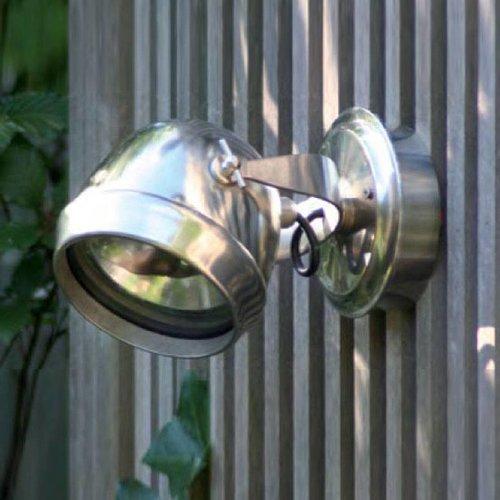 Muurlamp buiten landelijk brons, nikkel, chroom
