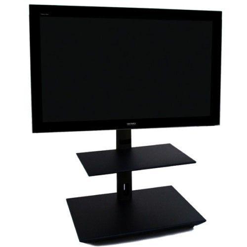 Lc Handy 120cm Mobiler Tv Ständer Schwarz Tvstaendershopde