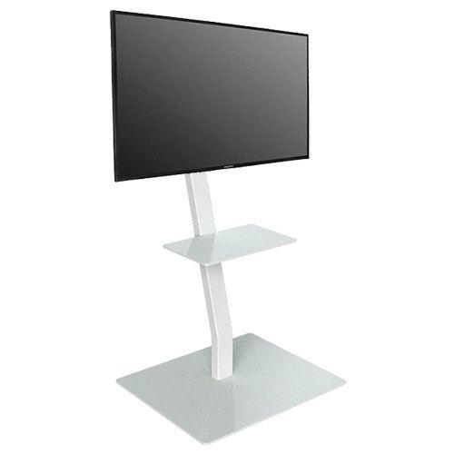 Lc Cloud Mobiler Tv Ständer Weiss Tvstaendershopde