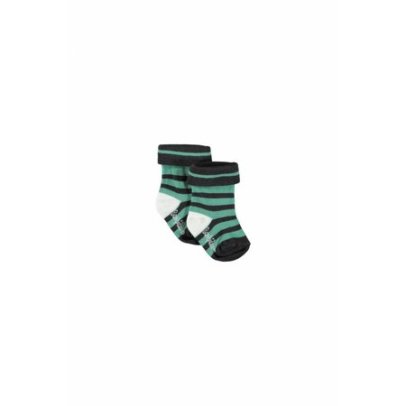 Bampidano Bampidano sokken groen gestreept