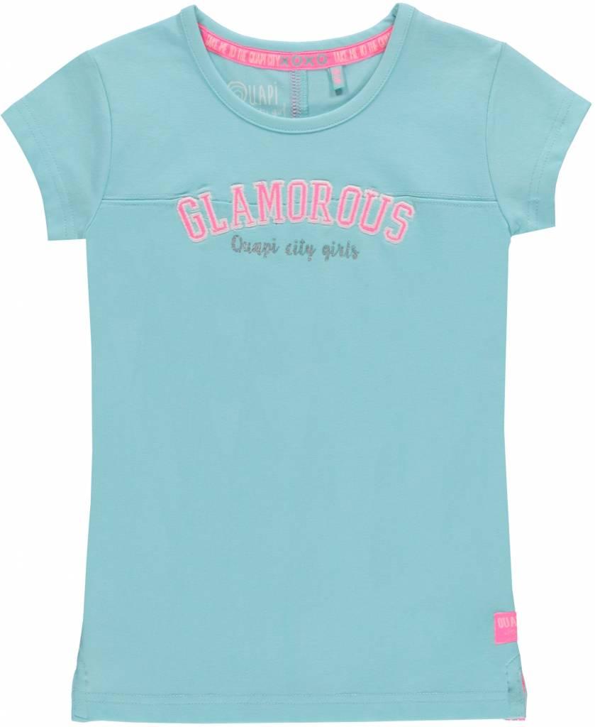 Quapi Quapi T-shirt Karleen aqua sky