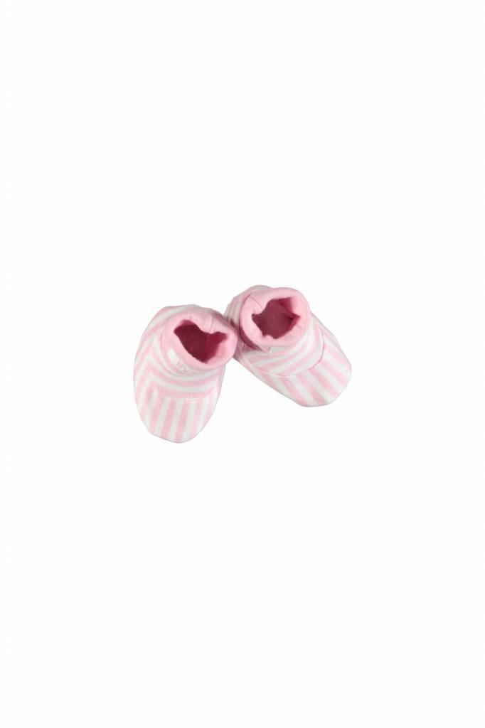 Bampidano Bampidano slofjes gestreept roze