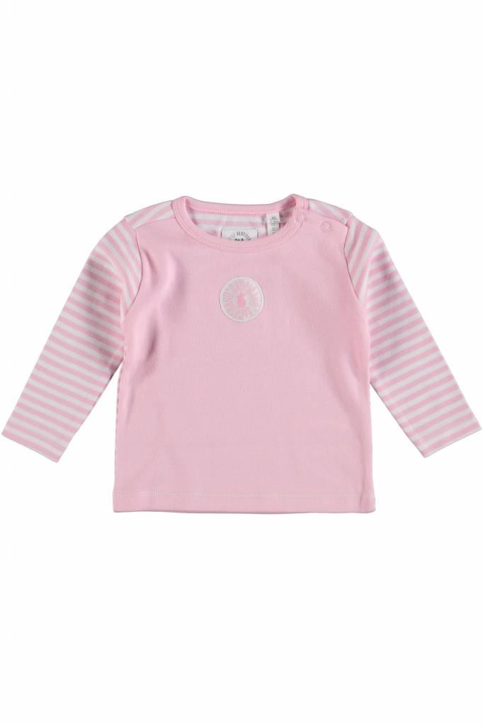 Bampidano Bampidano longsleeve streep roze
