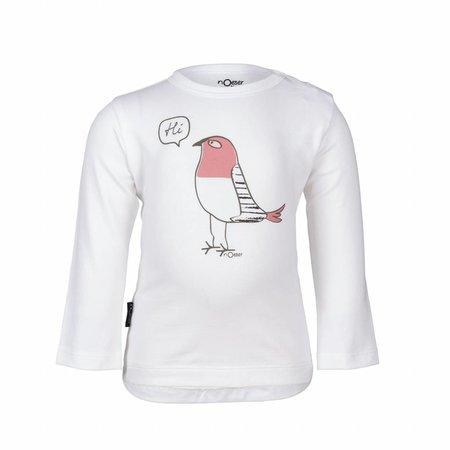nOeser nOeser longsleeve white with bird