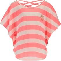 T-shirt Indra neon peach